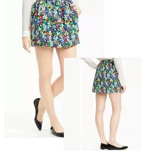 Kate spade Henrita full bloom mini skirt